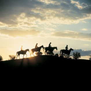 Santa Fe Trail Riding